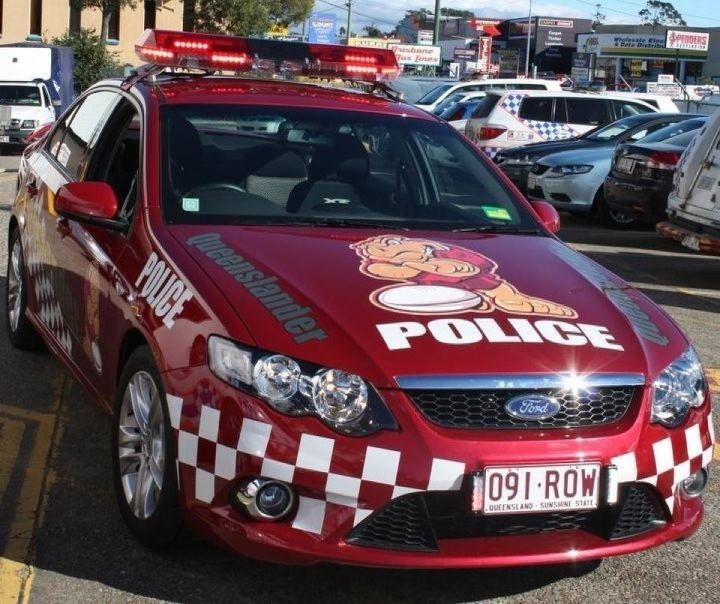 Queensland State of Origin Police Car