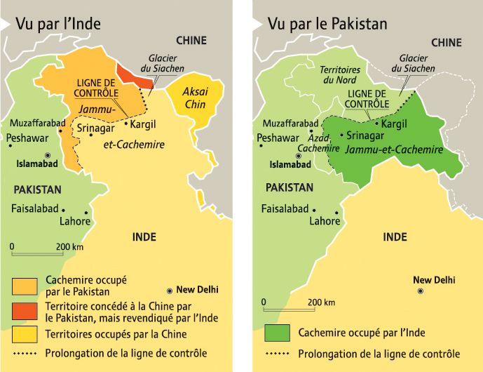 Duplicity of Kashmiri Maps