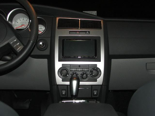 Dodge Charger 2006  Aftermarket Double Din Dash Kit