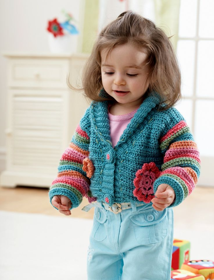 Cutie Crochet Bolero: free pattern