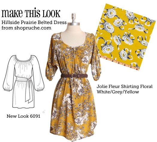 Love this dress! @Jessica Sawders-Brennan you have to help me make this when I come home!