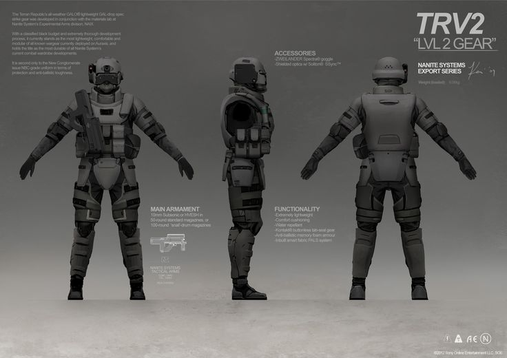 PLANETSIDE 2 Pre-Viz: Terran Republic Gear by `ukitakumuki on deviantART