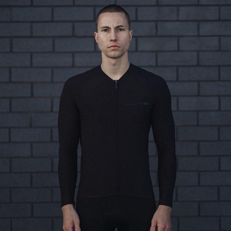 All Black Tech Long Sleeve Jersey