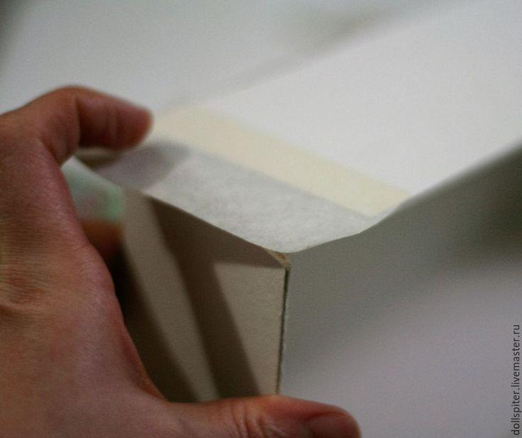 Мастерим коробочку для куклы - Ярмарка Мастеров - ручная работа, handmade