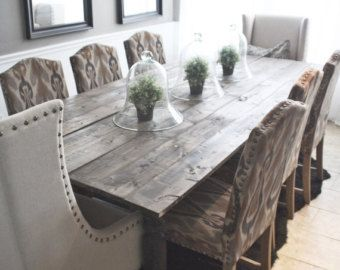 17 best images about dining room on pinterest oak stain for 108 dining room table