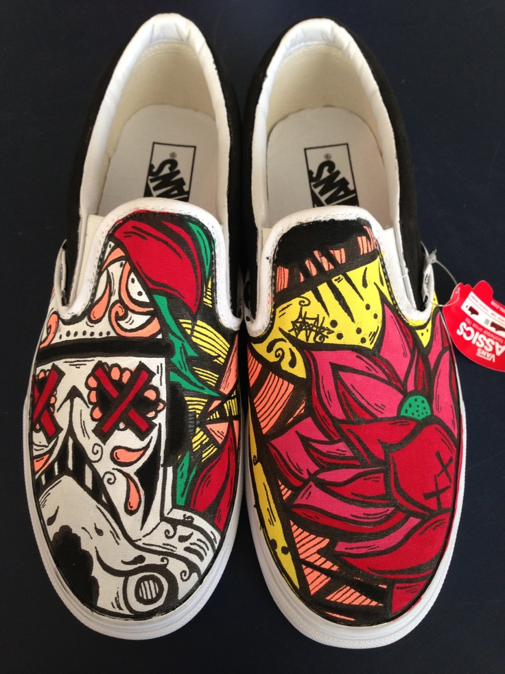 Vans Day Of The Dead Shoes