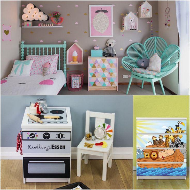 Les 235 meilleures images propos de chambre des enfants for Deco commode chambre