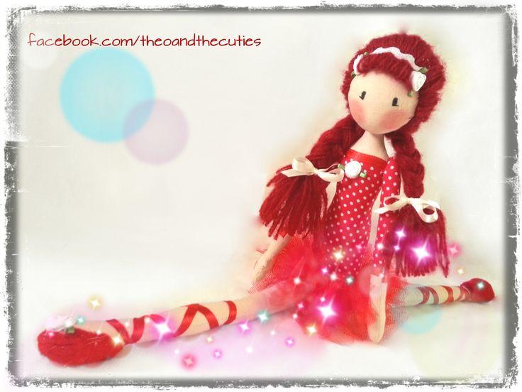 Theo and the Cuties - Circus Balerinas - Strawberry facebook.com/theoandthecuties