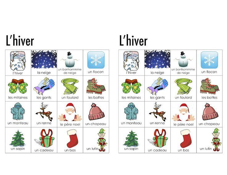 winter visual dictionary