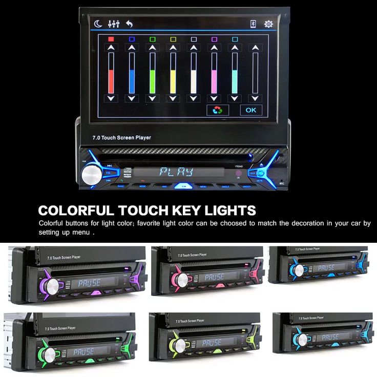 """7"""" Single Din Car Video Audio MP5 Player without Rear View Sales Online 1# - Tomtop.com"""