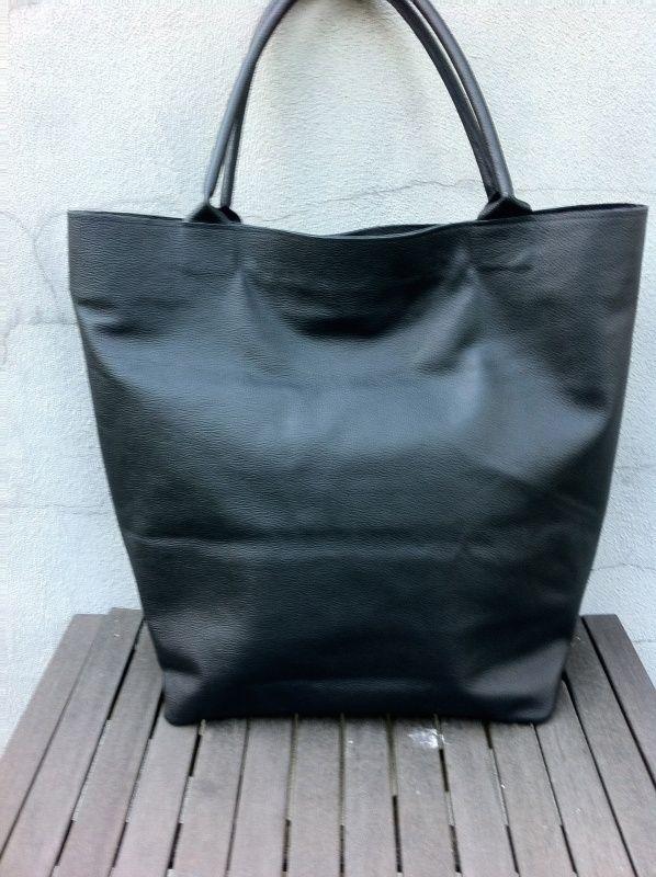 XXL shopper leer | Grote handtassen & shoppers | OSCI Tassen