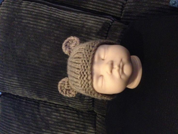 NB bear hat