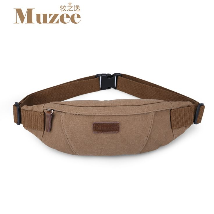 Muzee Men Waist Pack Multi-functional waist bag Fashion leisure canvas bag Inclined shoulder bag #>=#>=#>=#>=#> Click on the pin to check out discount price, color, size, shipping, etc. Save and like it!