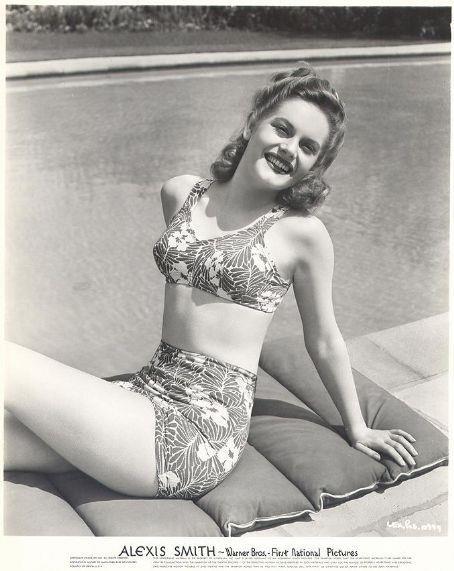 Bikini Schleife Bandeau Vintage-Stil hoch taillierte Retro