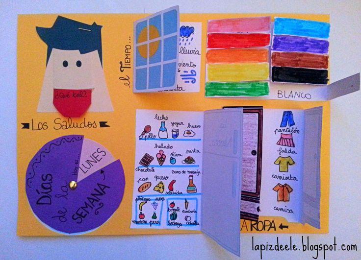 Cuaderno de vocabulario interactivo.