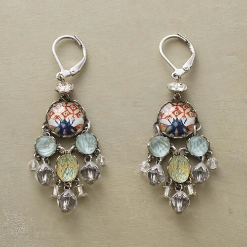 CRYSTAL PALACE EARRINGS: View 1