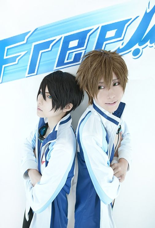 Haruka & Makoto (kuryu - WorldCosplay)   Free! #cosplay #anime