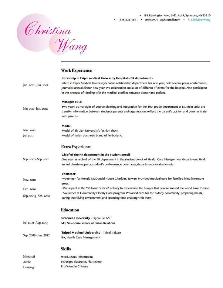 Reasons It Is Smart To Use A Resume Template To Write Your Own Resume