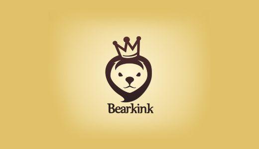 Artistically Designed Bear Logos | TutorialChip