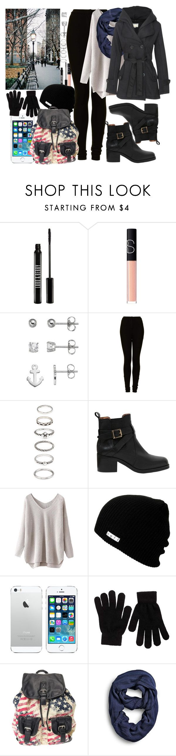 """""""Sem título #1152"""" by esther-rosa ❤ liked on Polyvore featuring Lord & Berry, NARS Cosmetics, Topshop, Forever 21, Carvela Kurt Geiger, Neff, Pieces and Sperry"""