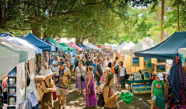 Markets, Byron Bay, Australia