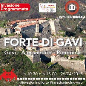 Invasioni digitali: Forte di Gavi e la sua guarnigione 26 aprile