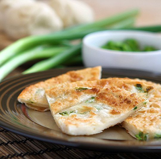 (Photo: Ethan Finkelstein)http://appetiteforchina.com/recipes/chinese-scallion-pancakes-photo-photo-recipe
