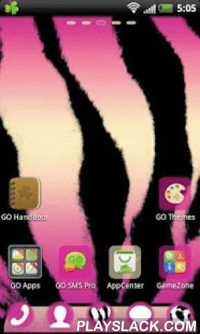 Pink Zebra GO Launcher Theme  Android App - playslack.com ,  Zoals u zich kunt voorstellen toont ze in een klassieke zebra en kleurrijke gloed. Als je graag alles gerelateerd aan natuur, dieren, het gewoon bij je past. Laat anderen door het uiterlijk van je telefoon, zoals een zebra, dat je geen afbraakprijzen als een luipaard of een leeuw, maar hebben een milde temperament en mysterieuze persoonlijkheid, want tot op de dag is het niet bekend of de zebra is wit met zwarte strepen of zwart…