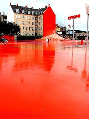 Superkilen in Copenhagen, Denmark | http://www.aladyinlondon.com