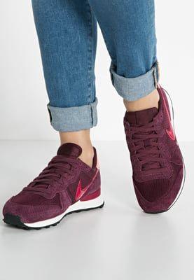 Dames Nike Sportswear INTERNATIONALIST - Sneakers laag - night maroon/noble red…