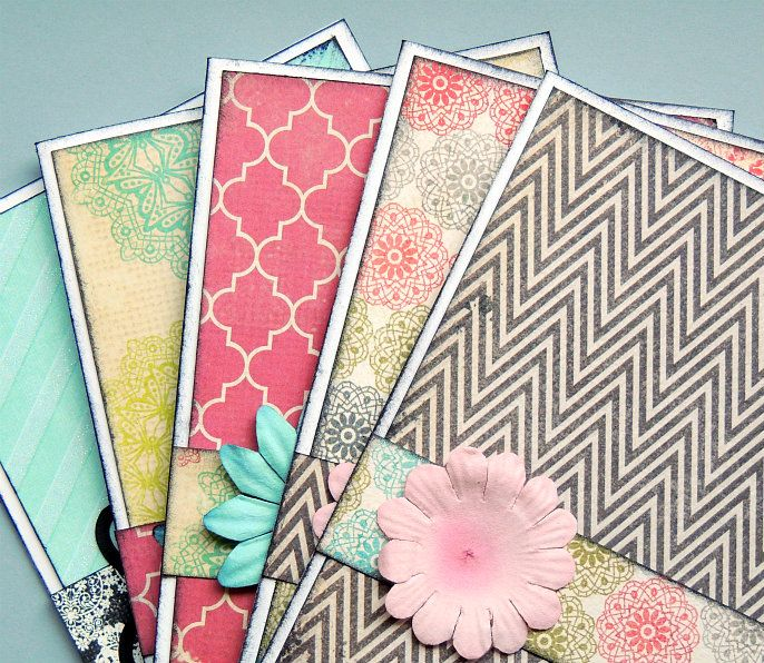 Crafting in the Rain: Easy Handmade Cards