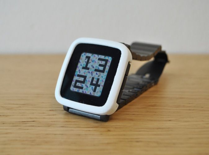 Check out Pebble Time Steel Bumper Cover by leoparder on Shapeways and discover more 3D printed products in Cases.