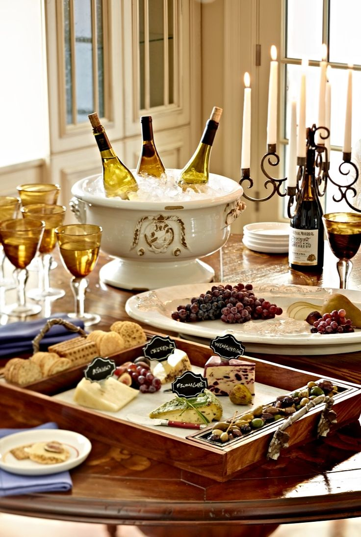 Your finest gourmet cheeses are even more irresistible when presented on this upscale serving set.