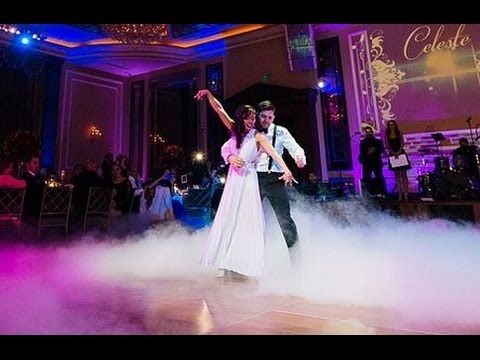 Newlyweds first dance to Thinking Out Loud by Ed Sheeran is perfect. This will happen at my wedding.