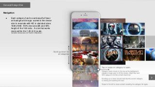 Tubi tv mobile designs