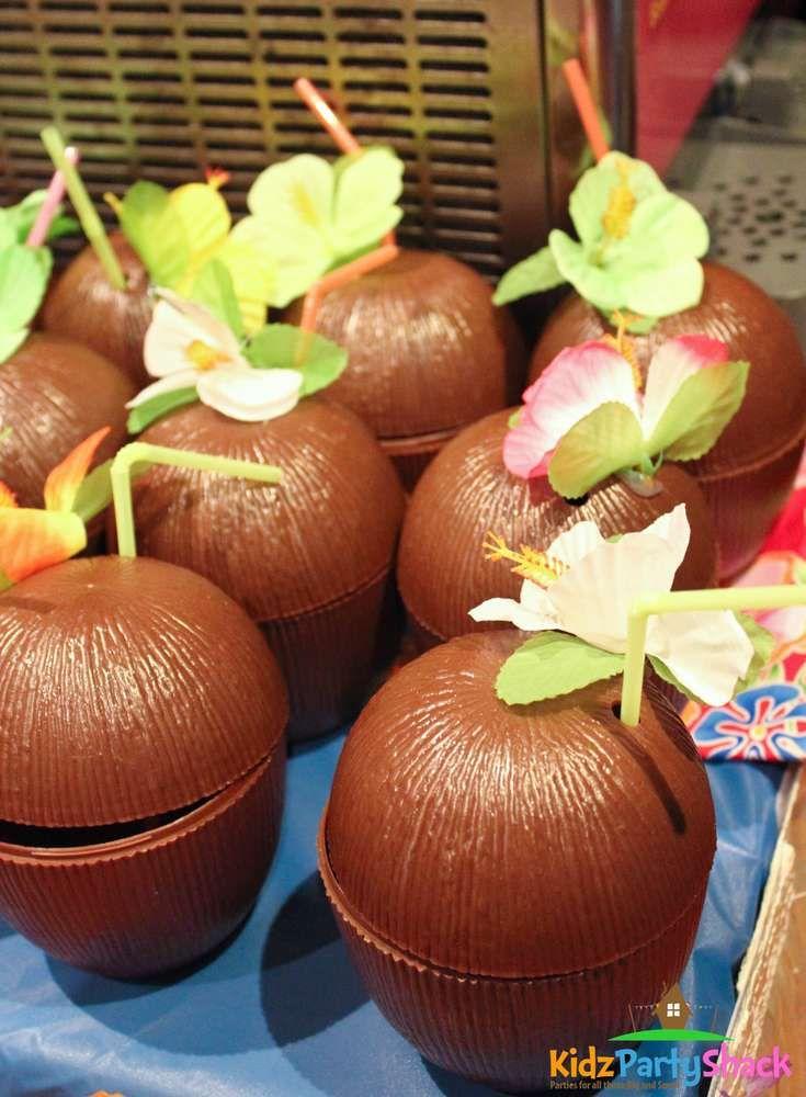 Hawaiian Luau Birthday Party Ideas | Photo 5 of 10 | Catch My Party