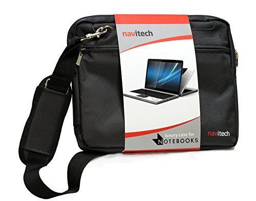 Navitech sacoche de transport besace antichocs pour ordinateur portable ou tablettes tactilesSamsung Galaxy Tab Pro S (noir): Intérieur…