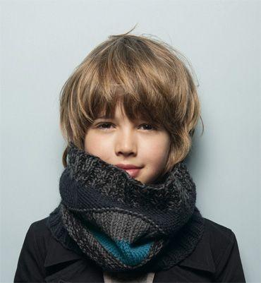best long hair for little boy | Source: phildar.fr via unsere 1. on Pinterest