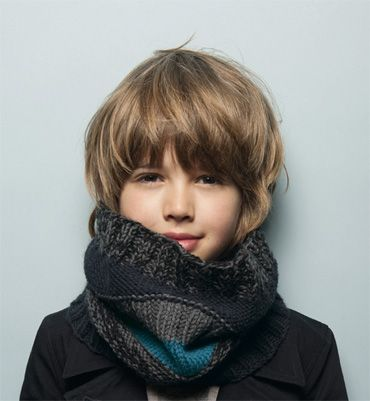 best long hair for little boy | Source: phildar.fr via unsere 1. on Pinterest