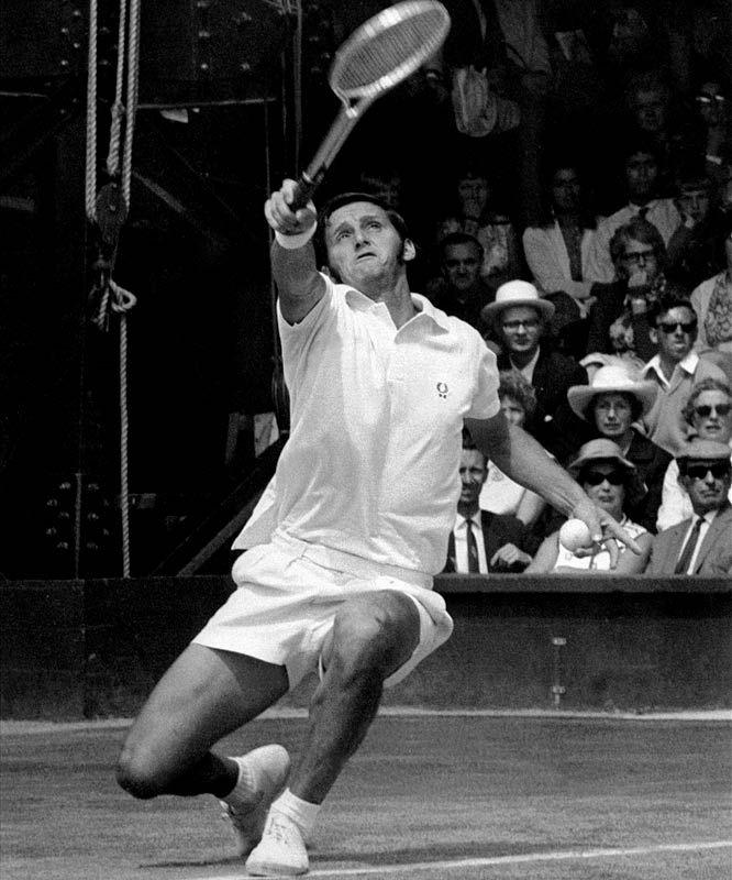 Roy Emerson vann 1964 och 1965 herr singeln båda gångerna över Fred Stolle, 1964 med 6-4, 12-10, 4-6, 6-3 och 1965 med 6-2, 6-4, 6-4.