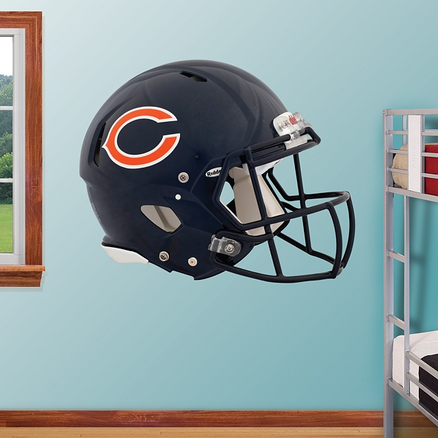 Chicago Bears 2012 Helmet - Chicago Bears - NFL from fathead.com