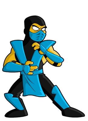 Sub-Zero, Simpsons Style #MortalKombat