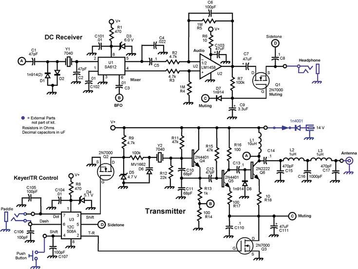 simple radio schematic simple radios simple am radio