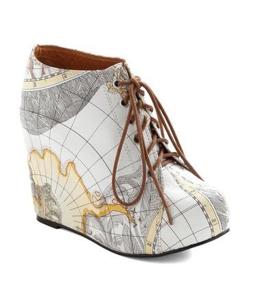 Jeffrey Campbell map shoe