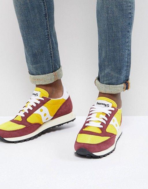 reputable site 6c1f7 50fa0 Saucony Jazz Original Sneakers In Yellow S70368-16 | asos ...
