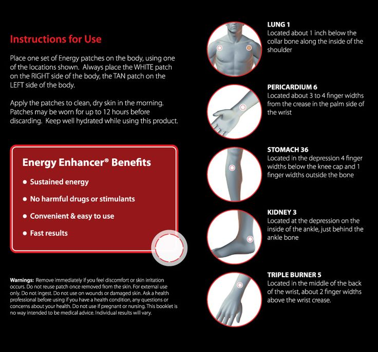 Energy Enhancer info--video and placements. Handy!
