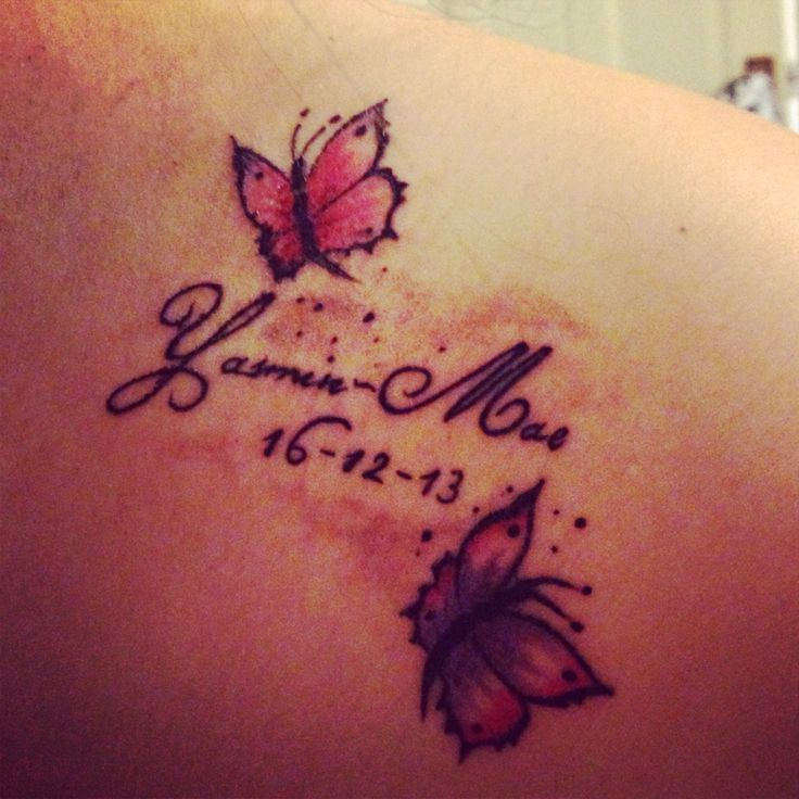 34 best images about tattoos ideas for ankle foot on for Daughter name tattoo ideas