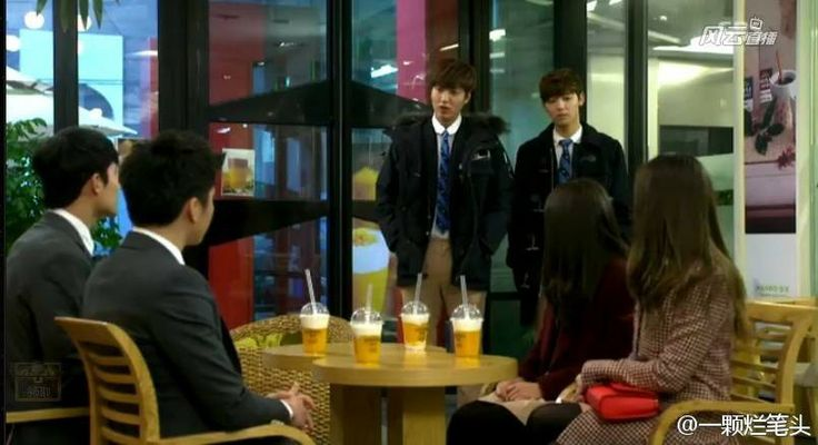 Heirs epi 19 did eun sang and lee bo na have a blind date???