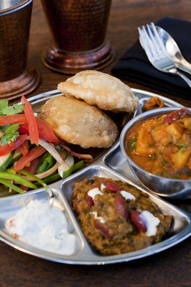 Vegetarian Indian Thali