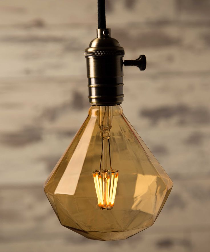 Vintage Light Bulb LED - Soft Diamond 8 filaments LED - William&Watson